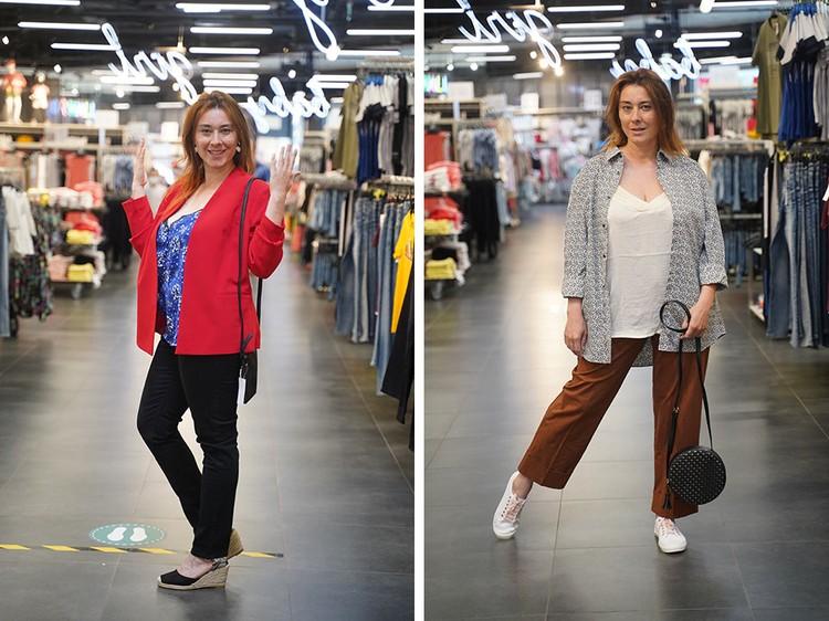 Кардиганы: справа - вышел из моды, слева - модный