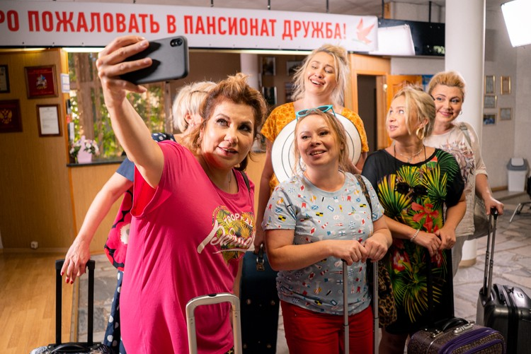 В клипе много персонажей сольной программы Марины Федункив. Фото: Личный архив Марины Федункив