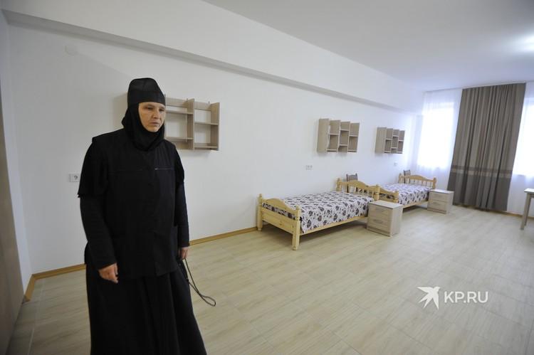 В новом храме будет келья для монахинь.