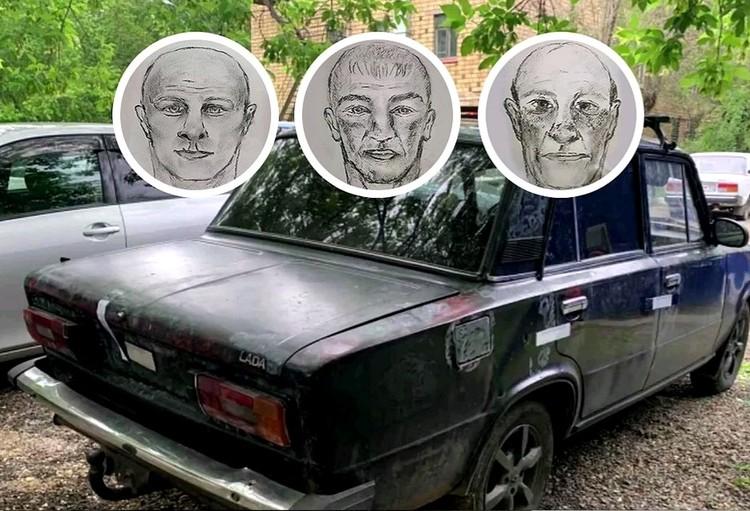 Фотороботы подозреваемых появились уже на второй день после ограбления. Фото: ГУ МВД по Красноярскому краю