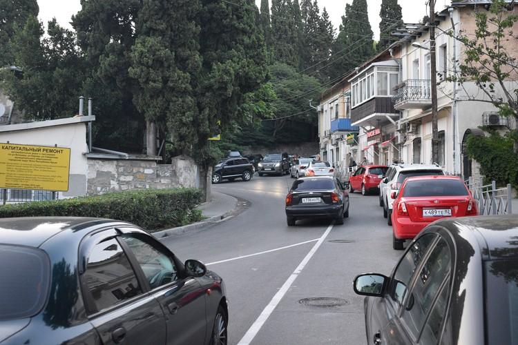 Улица Свердлова, Ялта.