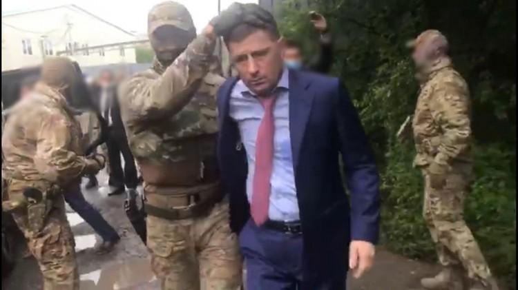 Задержание Сергея Фургала ФОТО: Следственный комитет России