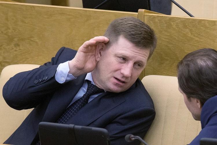 Фургала обвиняют ни много ни мало в организации заказных убийств бизнесменов в 2004 - 2005 годах. Фото: Сергей Бобылев/ТАСС