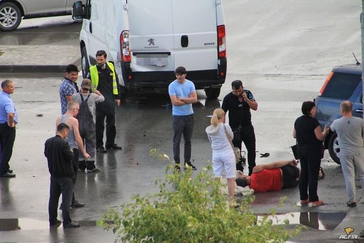 """В аварии пострадал один человек. Фото: """"АСТ-54"""""""