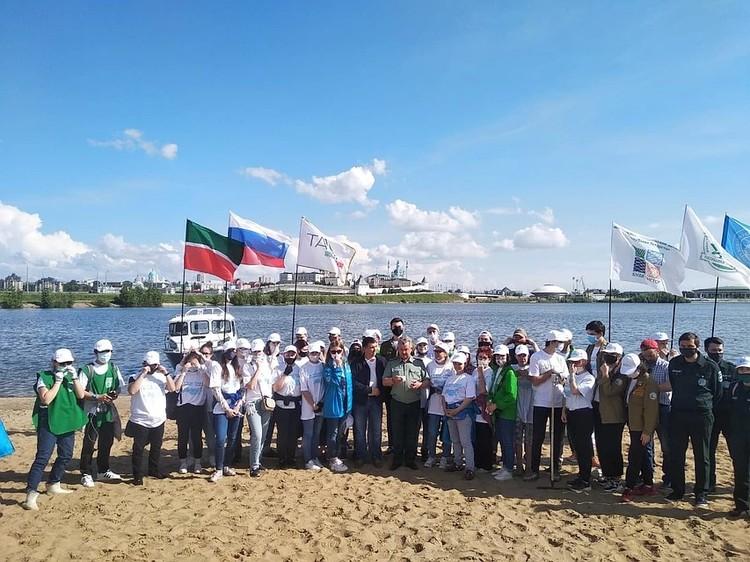 А 5 июня субботники одновременно проходили в 10 регионах страны, в том числе, в Татарстане