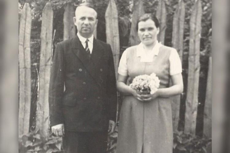 Иван Несмеянов вместе с любимой женой
