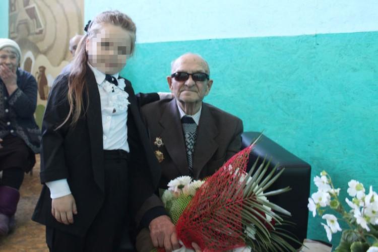 Иван Несмеянов часто приходил в местную школу, чтобы рассказать о военных годах ученикам