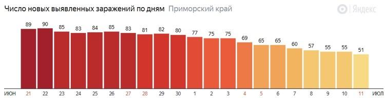 Инфографика: Яндекс.Коронавирус.Статистика