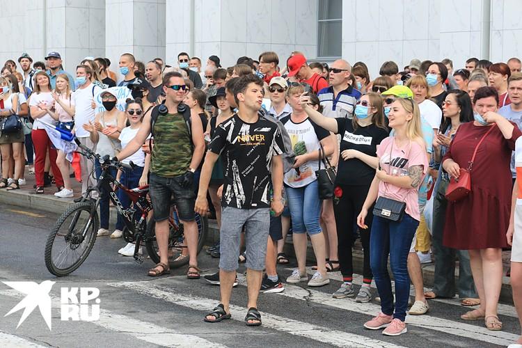 город собирается повторять акции своего недовольства Москвой каждый день