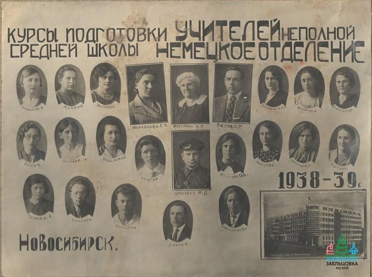 Кадры сделаны в довоенное время. Фото: музей «Заельцовка»