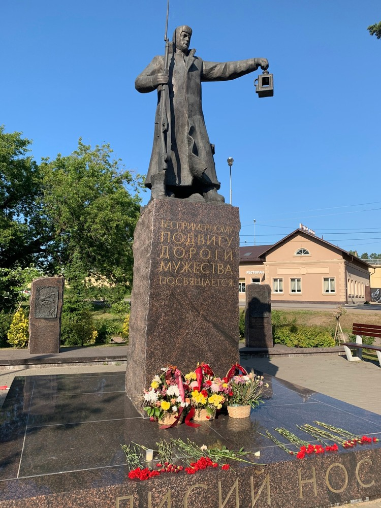 Монумент «Дорога мужества» открыли пять лет назад.