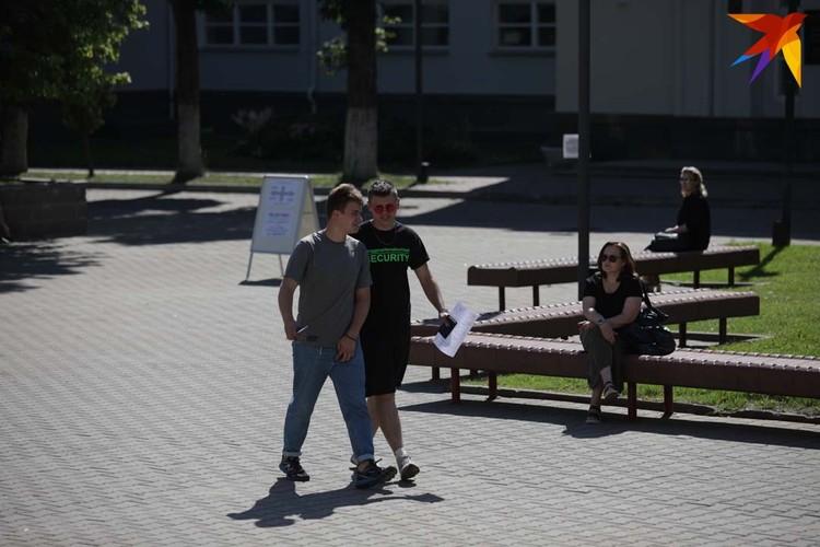 В БГУ сдавали в главном корусе и на физфаке