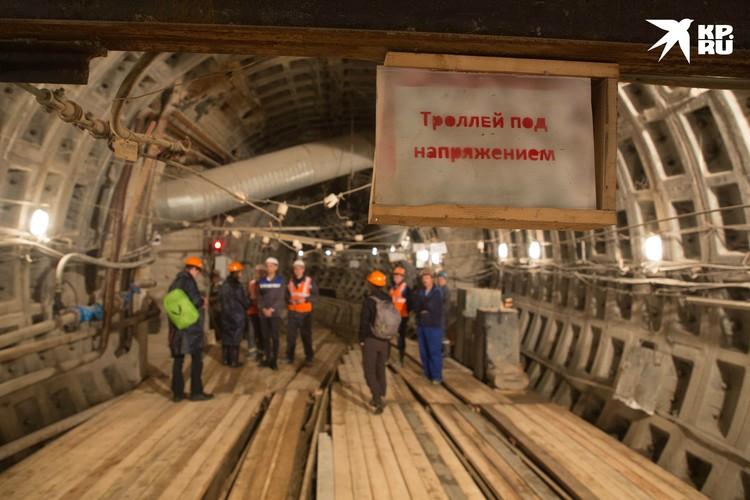 Помочь с финансами на строительство подземки Петербургу должны федералы