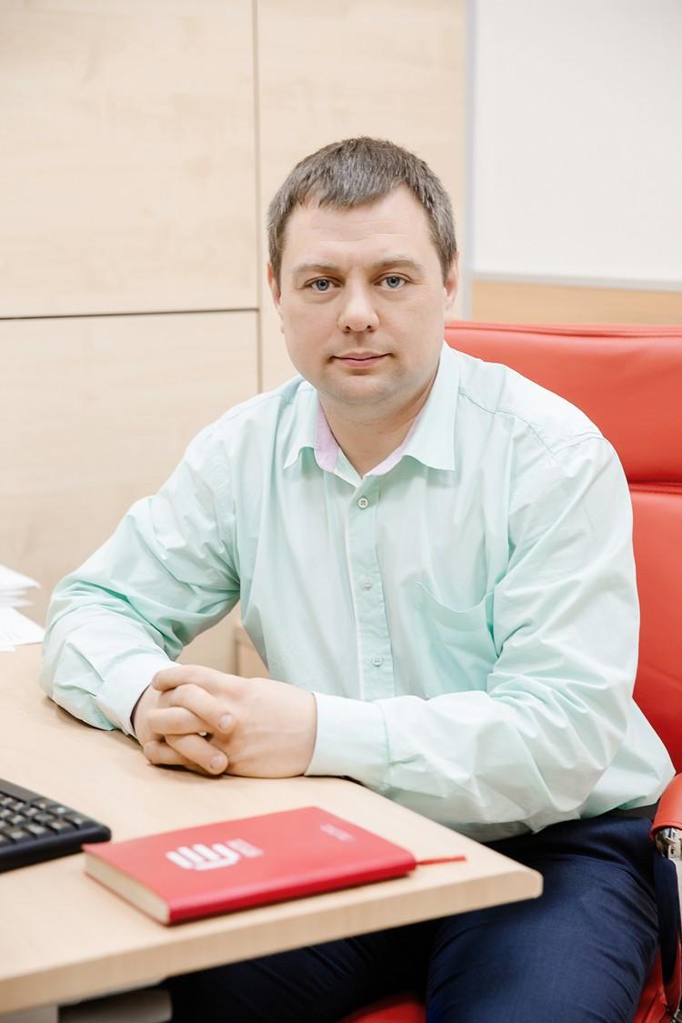 Генеральный директор ГК «ЕДИНСТВО» Антон Воробьев.