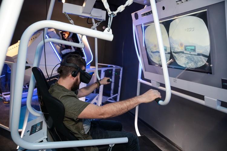 В Главном Атриуме начал работать парк виртуальных развлечений ARena Space.