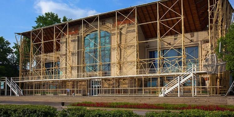 Когда реставрация завершится, то здесь разместят музей Олимпийского комитета России. Фото: пресс-служба ВДНХ