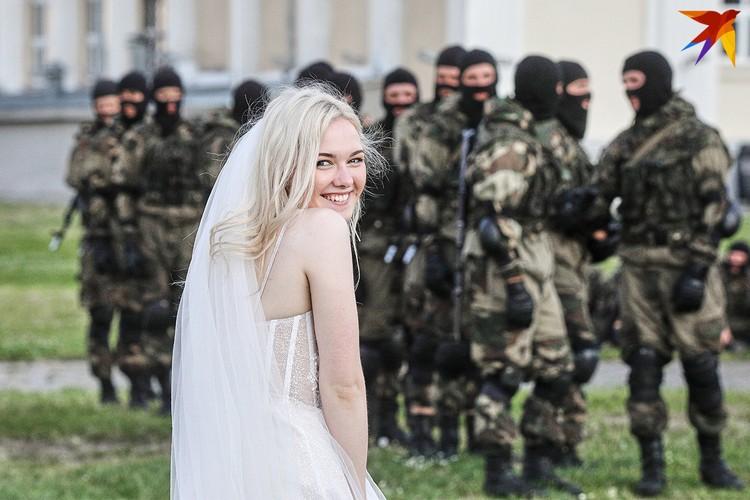 Отличный фон для свадебной съемки.