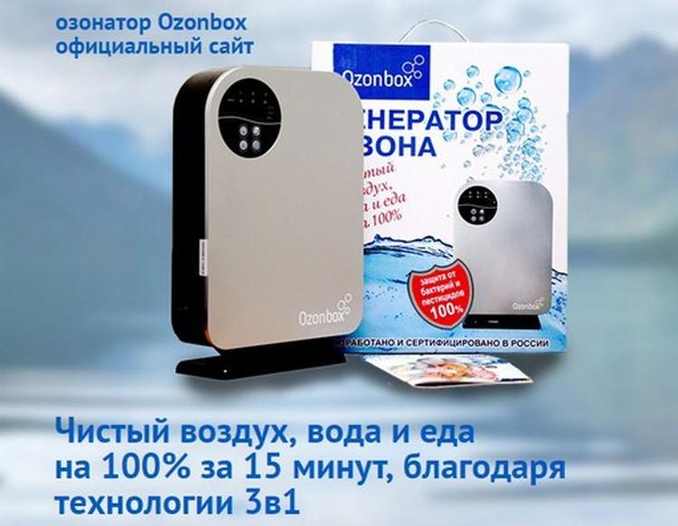 Компания выпускает различные модели систем озоновой очистки. Фото «Ozonbox».