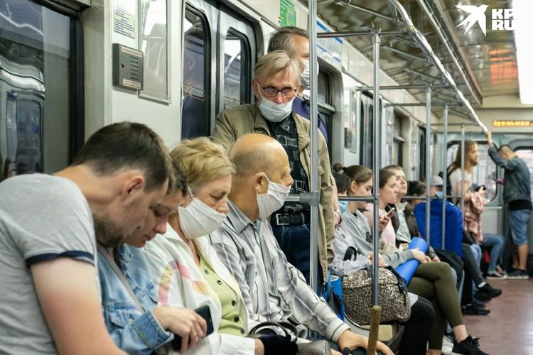 Петербург стал худшим по интервалу движения и продолжительности работы метро. Но в разгар пандемии