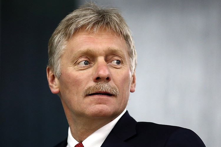 Пресс-секретарь президента России Дмитрий Песков. Фото: Валерий Шарифулин/ТАСС