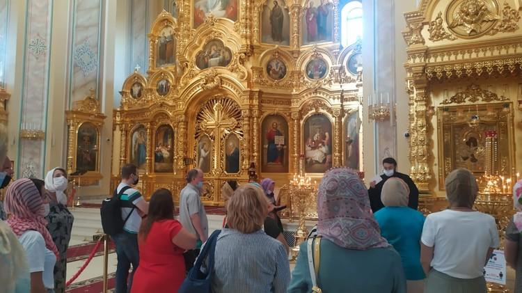 Собор преобразился после реставрации