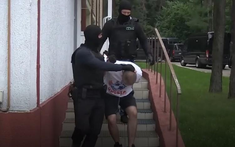 В Белоруссии рассказали о задержании 33-х россиян, которые якобы готовили на территории страны серию провокаций. Фото: кадр видео