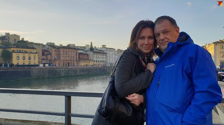 С супругой Ольгой. Фото: личный архив.