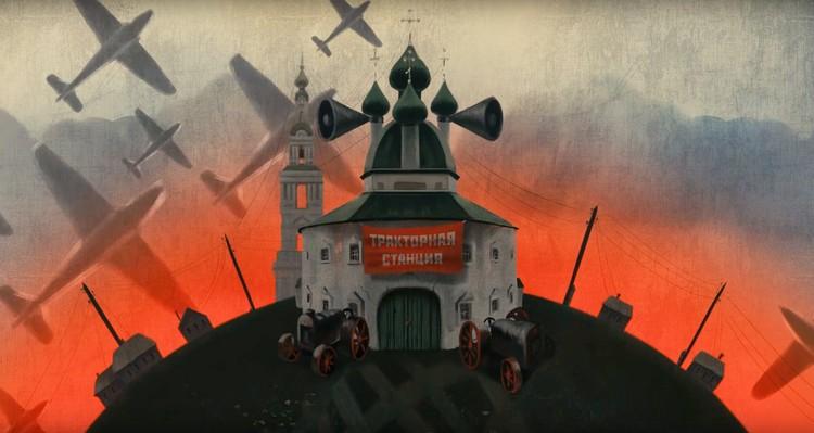 В мультфильме постарались воплотить не только историю курбского храма, но и отразить судьбу сотен других исчезающих церквей