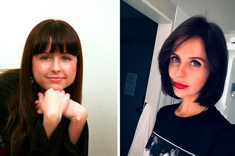 Мирослава Карпович - до и после