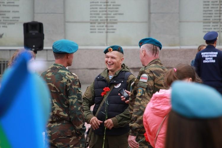 День ВДВ 2 августа 2020: на лицах десантников улыбки