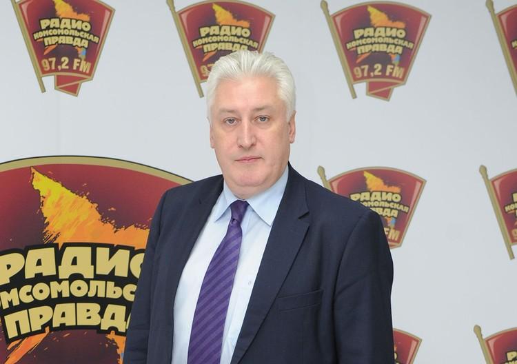 Главный редактор журнала `Национальная оборона` Игорь Коротченко.