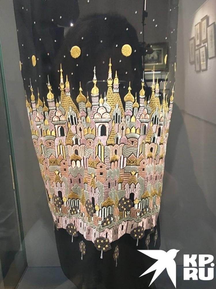 Подол платья Натальи Солженицыной