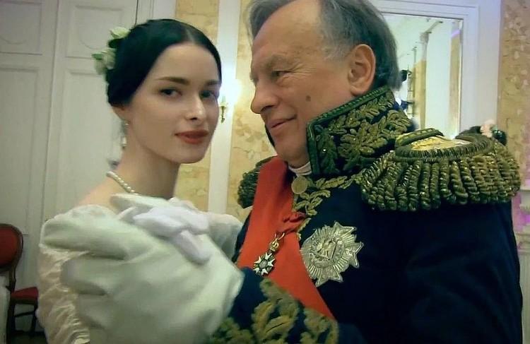 Анастасия и Соколов принимали участие в исторических реконструкциях
