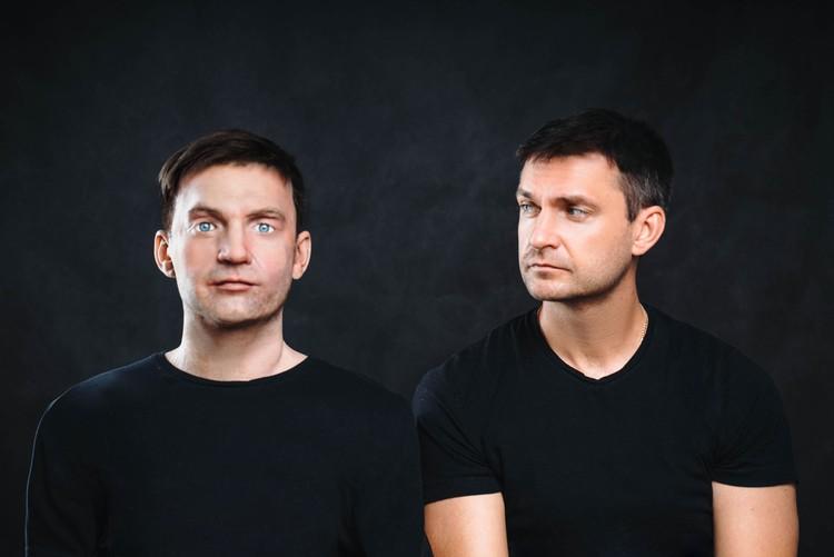 Алекс и Алексей Южаков. Фото: Promobot