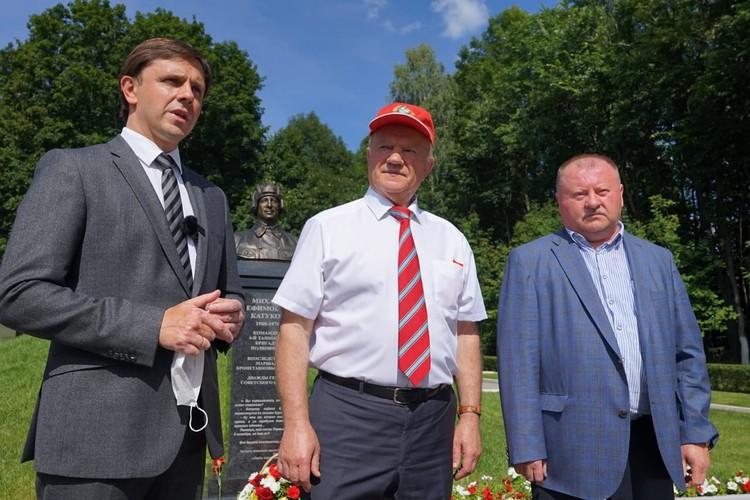 Геннадий Зюганов приехал в Орловскую область накануне празднования 77-годовщины освобожения региона от немецко-фашистских захватчиков