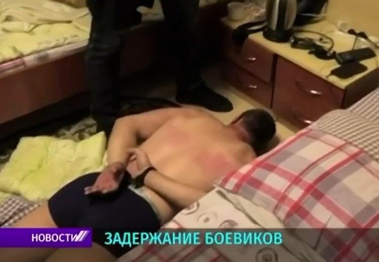 Один из задержанных в Минске.