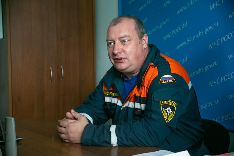 Сергей Бурученко, спасатель 2-го класса (десантник, взрывник).