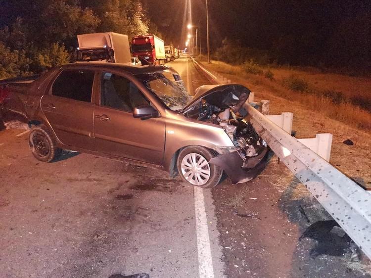 Все машины получили серьезные повреждения