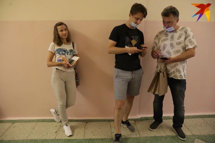 На досрочном голосовании Светлана была наблюдателем в Гродно, 9 августа - в Минске