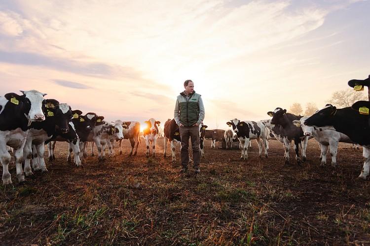 Крупнейший производитель молока в Европе Штефан Дюрр