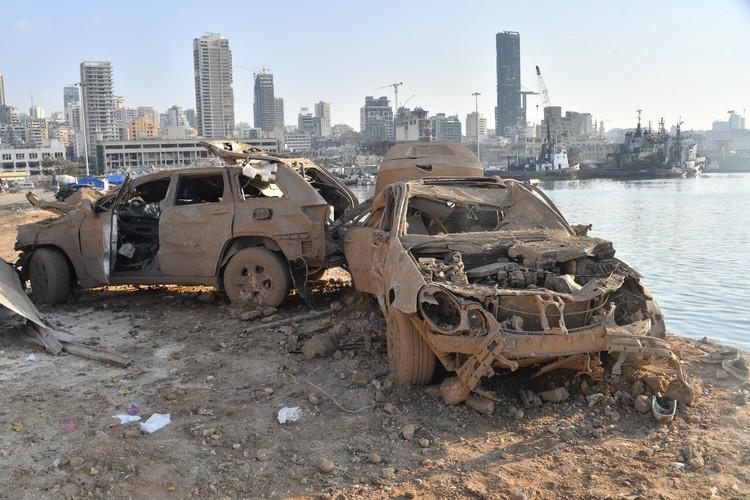 Источник взрыва находился в порту