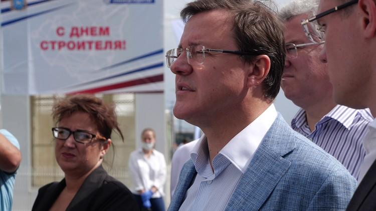 Губернатор посетил площадку «Новой Самары», одну из самых веселых и ярких.