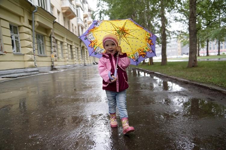 В День города в Екатеринбурге будет пасмурно и дождливо