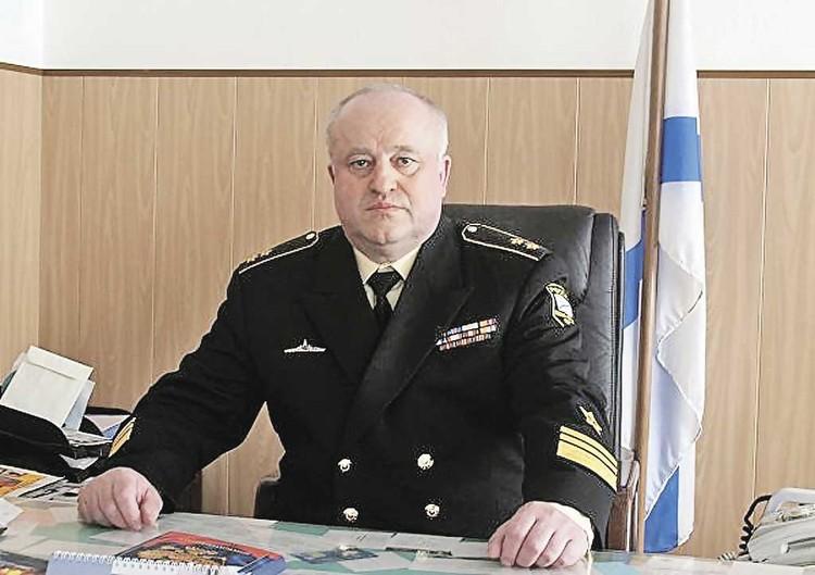 Вице-адмирал Олег Бурцев.