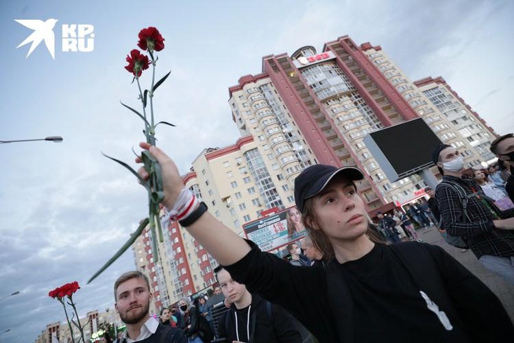 В Минске зачистка уже по дворам