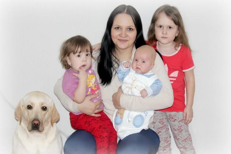 У Светланы трое детей
