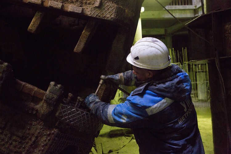 """""""Метрострой"""" уверяет, что работы под землей никак не влияют на здание Мариинки"""