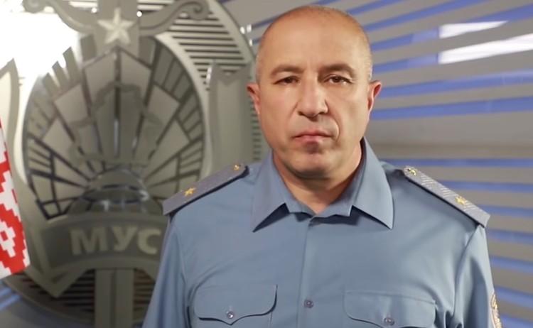 Глава МВД Республики Беларусь Юрий Караев.