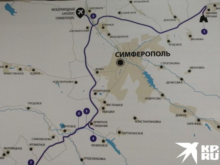 Новая трасса позволит домчаться от Крымского моста до Севастополя менее чем за 3 часа.