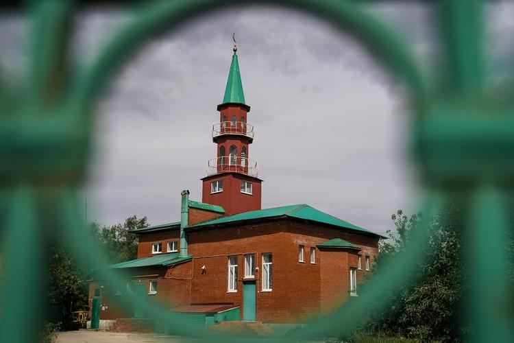 Мечеть на Кряжском шоссе